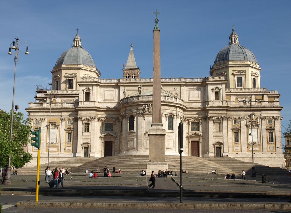 Basilica of Saint Mary Major - Biancagiulia B&B, Bed and Breakfast near Rome Termini Train Station