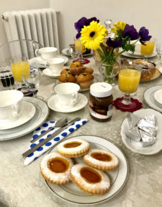 The Breakfast at Biancaluna B&B, Bed and Breakfast near Rome Termini Train Station
