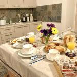 La colazione al Biancaluna B&B